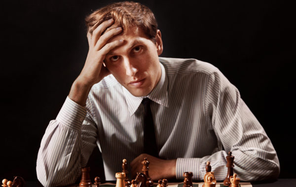 Bobby Fischer joue 1.b3